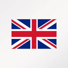 """Drapeau du pays ou de la zone """"UK"""""""