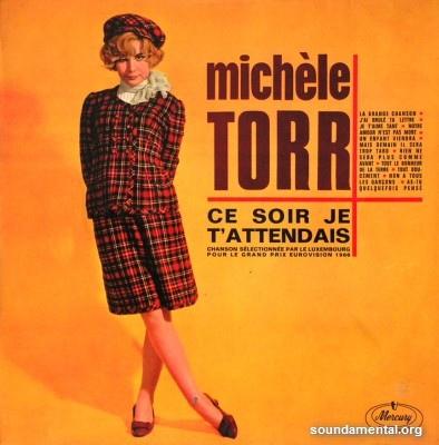 Michèle Torr - Ce soir je t'attendais / Copyright Michèle Torr