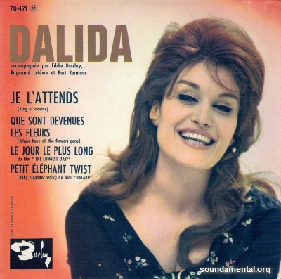Dalida - Je l'attends / Copyright Dalida