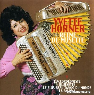 Yvette Horner - Reine de musette / Copyright Yvette Horner