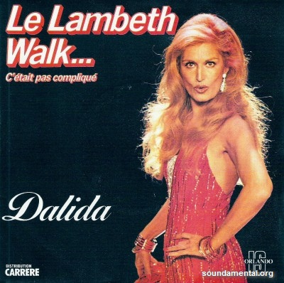 Dalida - Le Lambeth Walk (C'était pas compliqué) / Copyright Dalida