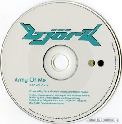Björk - Army of me / Copyright Björk