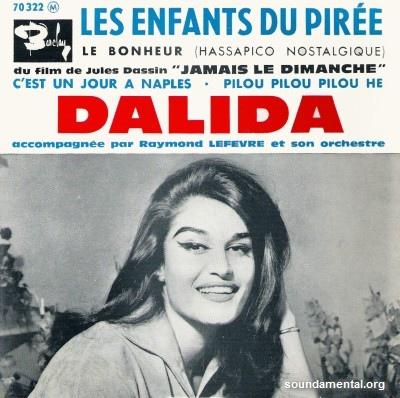 Dalida - Les enfants du Pirée / Copyright Dalida