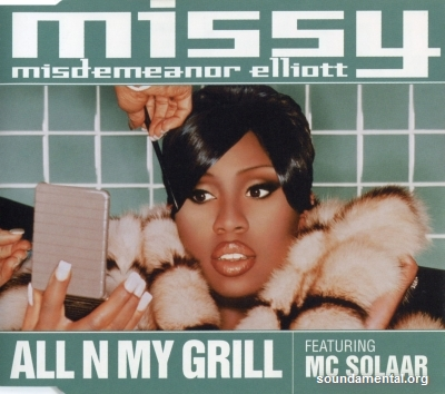 Missy Misdemeanor Elliott - All n my grill / Copyright Missy Elliott