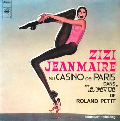 """Zizi Jeanmaire - Zizi Jeanmaire au Casino De Paris dans """"La revue"""" de Roland Petit / Copyright Zizi Jeanmaire"""