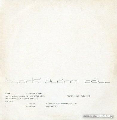 Björk - Alarm call / Copyright Björk