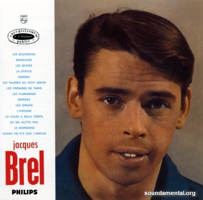 Jacques Brel - Olympia 1961 / Copyright Jacques Brel