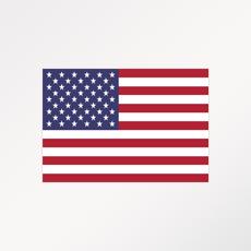 """Drapeau du pays ou de la zone """"USA"""""""
