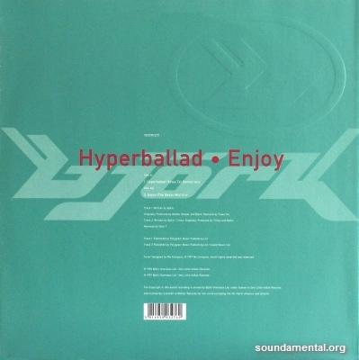Björk - Hyperballad / Enjoy / Copyright Björk