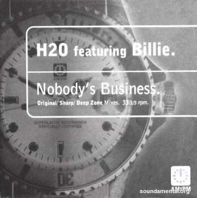 H2O - Nobody's business / Copyright H2O