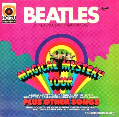 The Beatles - Magical Mystery Tour (Plus other songs) / Copyright The Beatles