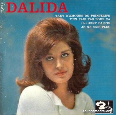 Dalida - Ils sont partis / Copyright Dalida