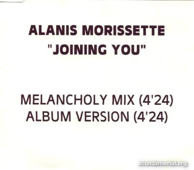 Alanis Morissette - Joining you / Copyright Alanis Morissette