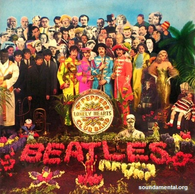 The Beatles - Sgt. Pepper's Lonely Hearts Club Band / Copyright The Beatles