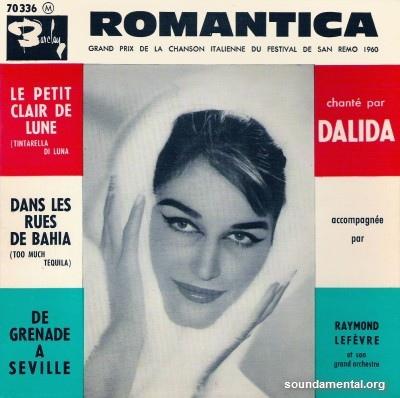 Dalida - Romantica (Grand Prix de la chanson italienne du festival de San Remo 1960) / Copyright Dalida