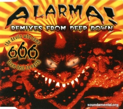 666 - Alarma! (Remixes from deep down) / Copyright 666
