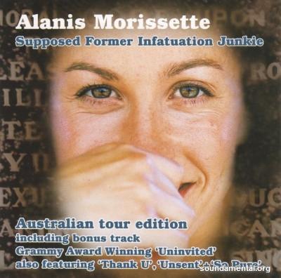 Alanis Morissette - Supposed former infatuation junkie / Copyright Alanis Morissette