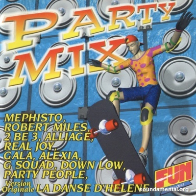 Various Artists - Party Mix (Vol. 01) / Copyright Airplay Records