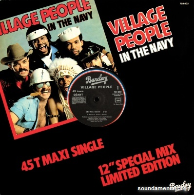 "Village People - In the Navy (12"" special mix - Limited edition) / Copyright Village People"