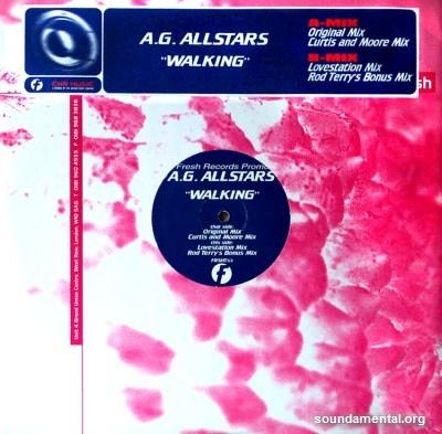 A.G. Allstars - Walking / Copyright A.G. Allstars