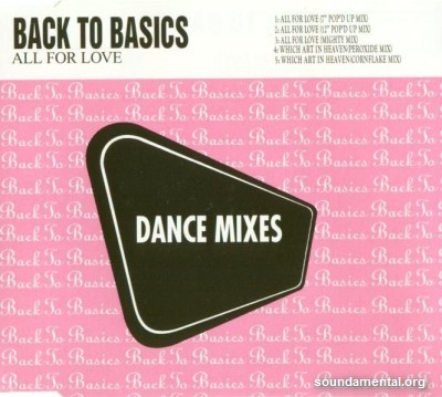 Back To Basics (2) - All for love (Dance mixes) / Copyright Back To Basics (2)