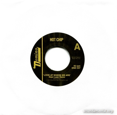 Hot Chip - Look at where we are (Major Lazer Remix) / Copyright Hot Chip
