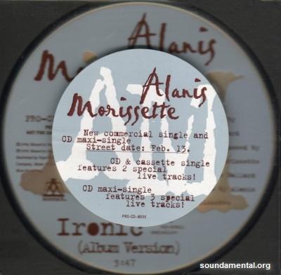 Alanis Morissette - Ironic / Copyright Alanis Morissette