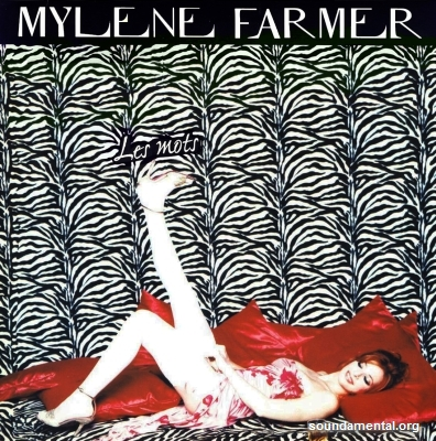 Mylène Farmer - Les mots / Copyright Mylène Farmer