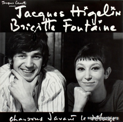 Jacques Higelin & Brigitte Fontaine - Chansons d'avant le déluge / Copyright Jacques Higelin