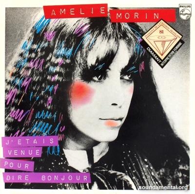 Amélie Morin - J'étais venue pour dire bonjour / Copyright Amélie Morin