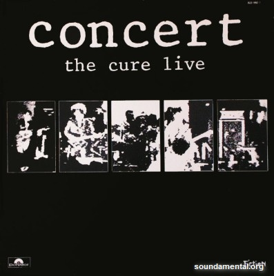 The Cure - Concert (The Cure live) / Copyright The Cure