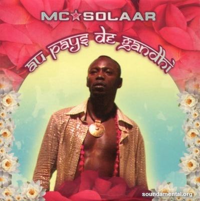 MC Solaar - Au pays de Gandhi / Copyright MC Solaar