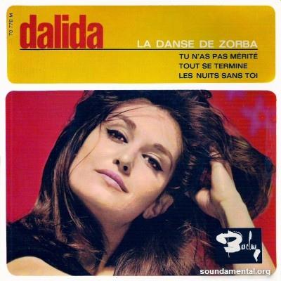 Dalida - La danse de Zorba / Copyright Dalida