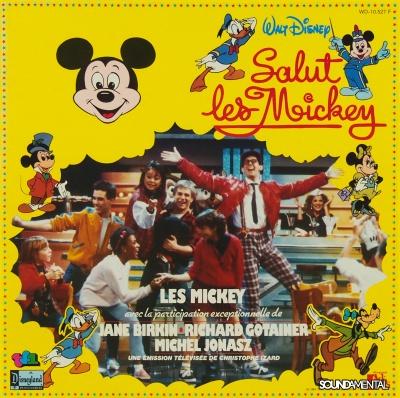 Les Mickey avec Jane Birkin, Richard Gotainer et Michel Jonasz - Salut Les Mickey / Copyright Les Mickey