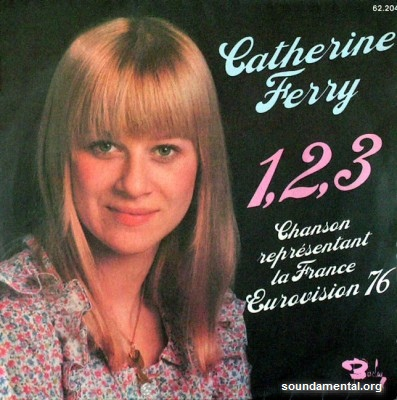Catherine Ferry - 1, 2, 3 (Eurovision 1976) / Copyright Catherine Ferry