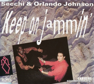 Secchi & Orlando Johnson - Keep on jammin' / Copyright Stefano Secchi