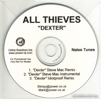 All Thieves - Dexter (Remixes) / Copyright All Thieves