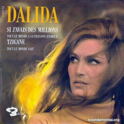 Dalida - Si j'avais des millions / Copyright Dalida