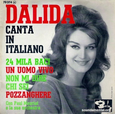 Dalida - Dalida canta in Italiano / Copyright Dalida