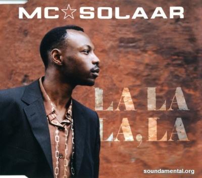MC Solaar - La la la, la / Copyright MC Solaar