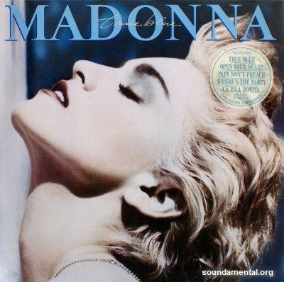 Madonna - True blue / Copyright Madonna