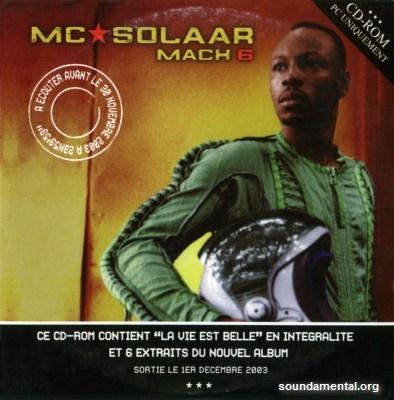 MC Solaar - Mach 6 / Copyright MC Solaar